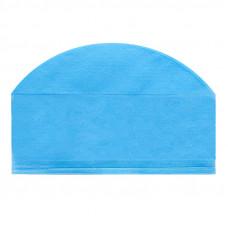 Шапочка-колпак 18 см плотность 60 стерильная с подворотом