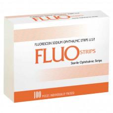 FluoStrips тест-полоски офтальмологические с флюоресцеином 100 шт