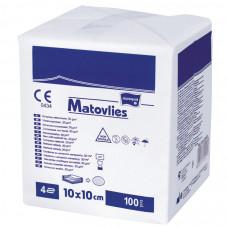 Салфетки Matopat Matovlies стерильные 4 слоя 40 г/м 10х10 см 2 шт