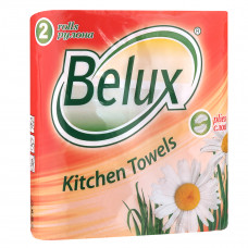 Полотенца Belux 2 слоя 2 шт