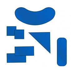 Набор рентгенозащитных пластин (семь предметов) РЕНЕКС НРП-1,0 , эквивалент 1,0 мм Pb