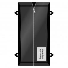 Мешок патологоанатомический ПВД на молнии с ручками 220х90 см плотность 85