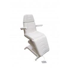 Кресло процедурное с электроприводом Ондеви-1 ОД-1 с прямыми откидными подлокотниками, держателем для инвазивной стойки и ножной педалью у