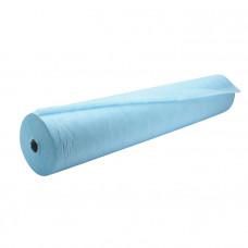 Простыня в рулоне Гекса нестерильная спанбонд 80х200 см 42 г/м голубая 100 листов