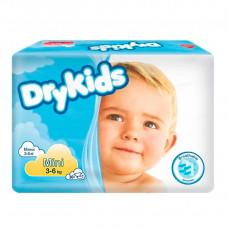 Подгузники DryKids mini 3-6 кг 30 шт