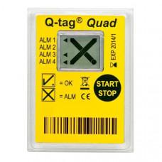 Кью-Тег Квад Мульти-Лимит Q-tag Quad-Multi-Limit индикатор температурный МИБПи ИГ