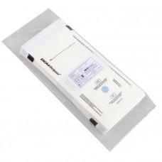Пакет из влагопрочной бумаги самозапечатывающийся DGM 100х250 мм белый 100 шт