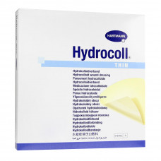 Повязка Hydrocoll thin для слабоэкссудирующих ран гидроколлоидная 15х15 см 5 шт
