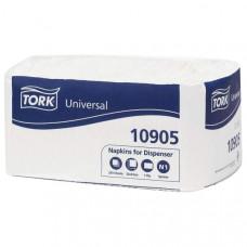 Салфетки Tork Counterfold 10905 для диспенсера 1 слой 30х33 см 250 листов 16 шт