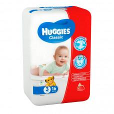 Подгузники Huggies Classic SoftDry 4-9 кг 16 шт