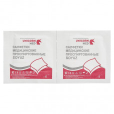 Soyuz салфетки для инъекций спиртовые 30х65 мм 100 шт