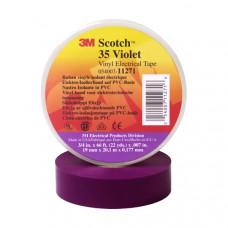 Изоляционная лента 3М scotch высший сорт 19 мм 20 м фиолетовая