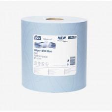 Материал протирочный Tork Advanced Wiper 430 Blue Performance 130070 2 слоя 37 см 340 м 1000 листов