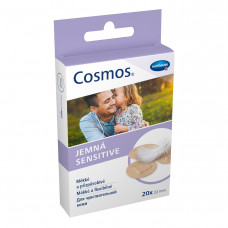 Пластырь Cosmos sensitive для чувствительной кожи 22 мм 20 шт