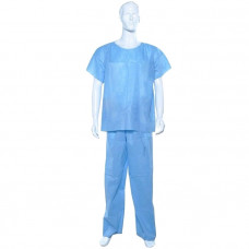 Комплект одежды хирургической - куртка и брюки плотность 25 стерильный