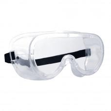 Очки закрытые с прямой вентиляцией через боковые отверстия Монолюкс