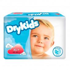 Подгузники DryKids XL plus 15-30 кг 30 шт