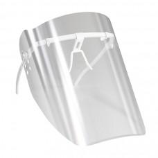 Маска пластмассовая прозрачная для защиты лица врача-стоматолога при проведении манипуляций в полости рта  МС-ЕЛАТ 10 пленок