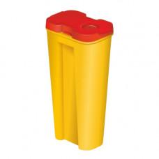 Емкость-контейнер для сбора игл КМ-Проект ЛМ-04 0,15 л класс Б желтый