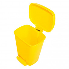 Бак для медицинских отходов Инновация класс Б 30 л желтый с педалью