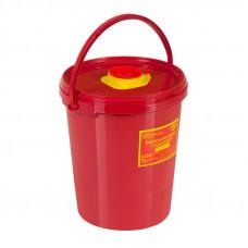 Контейнер для утилизации острого инструмента МедКом класс В 3 л красный