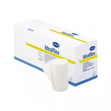 Бинт Idealflex 45% полиэстер 42% хлопок 13% вискоза 10 см 5 м 10 шт