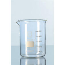 Стакан стеклянный лабораторный 50 мл градуированный