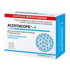Сорбент Асептика Асептисорб-А 1 г 5 шт