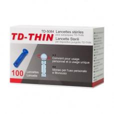 Ланцет ТайДок TD-THIN 100 шт