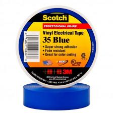 Изоляционная лента 3М scotch высший сорт 19 мм 20 м синяя
