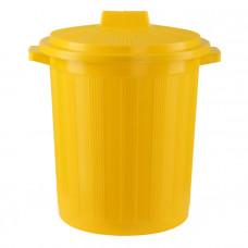 Бак для медицинских отходов КМ-проект класс Б 12 л желтый