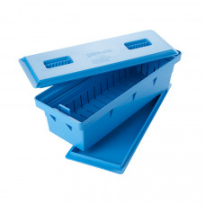 Емкость для стерилизации 4 литра с лотком крышкой и поддоном 426х156х138 мм