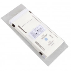 Пакет из влагопрочной бумаги самозапечатывающийся DGM 115х245 мм белый 100 шт