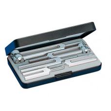 Набор из 5 алюминиевых камертонов К-5142-А с гирьками
