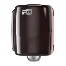 Диспенсер для материалов в рулоне со съемной втулкой Tork 653008 красный