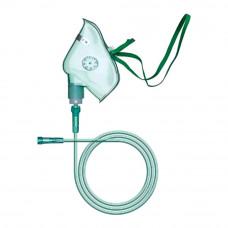 Маска кислородная Apexmed для взрослых с кислородной трубкой 2 м размер ХL