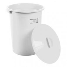 Бак для медицинских отходов Респект класс А 70 л белый