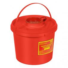 Контейнер для утилизации острого инструмента МедКом класс В 2 л красный