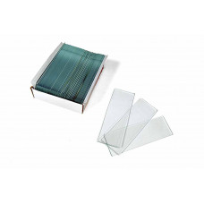 Стекло предметное с полосой для записей 76х26х0,8-1 мм 100 шт