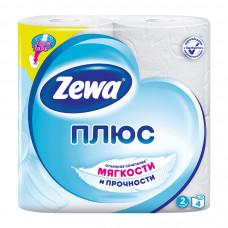 Туалетная бумага Zewa 2 слоя 4 шт