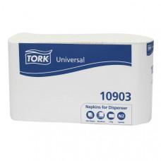 Салфетки Tork Fastfold 10903 для диспенсера 25х30 см 250 листов 36 шт