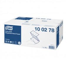 Полотенца Tork Premium 100278 ZZ сложение 2 слоя 23х23 см 200 листов 15 шт
