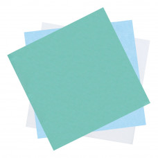 Бумага крепированная мягкая для паровой и газовой стерилизации DGM 1200х1200 мм зеленая 100 шт