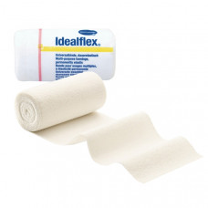 Бинт Idealflex 45% полиэстер 42% хлопок 13% вискоза 15 см 5 м