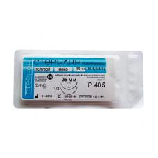 Стерилин М3 (2/0) колюще-режущая игла 20 мм 75 см 1/2 P228