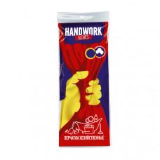 Перчатки хозяйственные универсальные Handwork M 12 пар