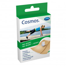 Пластырь Cosmos sport эластичный полиуретан 6х10 см 5 шт
