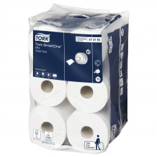 Туалетная бумага Tork SmartOne 472193 2 слоя 13,4 см 112 м 620 листов 12 шт