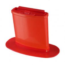 Контейнер для утилизации острого инструмента КМ-Проект класс В 0,25 л красный одноразовый
