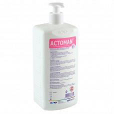 Актоман мыло жидкое антибактериальное 1 л